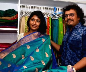 Opening ceremony of a fashion boutique - Indrani Halder, Rachna Banerjee