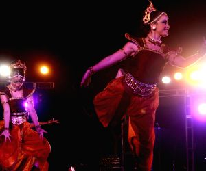 Maya Dance Theatre artist at Closing Gala of Delhi International Arts Festival