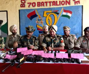 Arms and ammunition recovered in Punjab