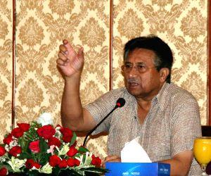 Pervez Musharraf. (Xinhua/Masroor) (Credit Image: © Masroor/Xinhua/ZUMAPRESS.com)