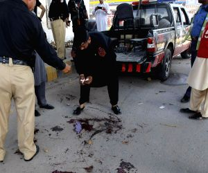 PAKISTAN PESHAWAR POLICE ATTACK