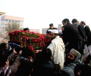 PAKISTAN PESHAWAR ATTACK FUNERAL