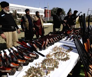 PAKISTAN PESHAWAR AMMUNITION CAPTURE