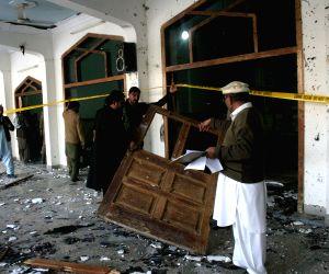 PAKISTAN PESHAWAR SUICIDE BLAST