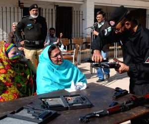 PAKISTAN PESHAWAR FEMALE TEACHERS WEAPON TRAINING