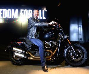 Harley Davidson motorcycle launch