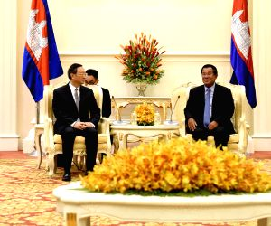 CAMBODIA PHNOM PENH YANG JIECHI VISIT