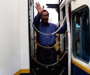 CAMBODIA-PHNOM PENH-PASSENGER TRAIN-RESTART OF SERVICE