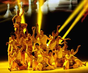 CAMBODIA PHNOM PENH CHINA NIGHT SHOW