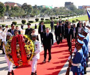 CAMBODIA-PHNOM PENH-CHINA-LI KEQIANG-CAMBODIAN PM-TALKS