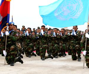 CAMBODIA-PHNOM PENH-7TH BATCH OF TROOPS-LEBANON-PEACEKEEPING MISSION