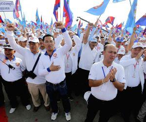 CAMBODIA PHNOM PENH PM ELECTION CAMPAIGN