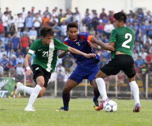 CAMBODIA PHNOM PENH MACAO FOOTBALL