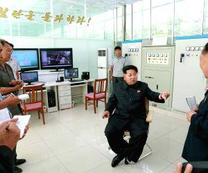 DPRK-PYONGYANG-VEGETABLE SCIENCE INSTITUTE-KIM JONG UN-FIELD GUIDANCE