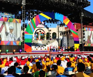 US-LOS ANGELES-2015 SPECIAL OLYMPICS WORLD GAMES-CLOSING CEREMONY