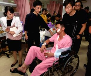 THAILAND-PHUKET-BOAT ACCIDENT-INJURED CHINESE TOURISTS