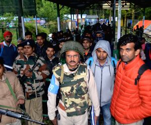 43 pilgrims leave for Amarnath Yatra