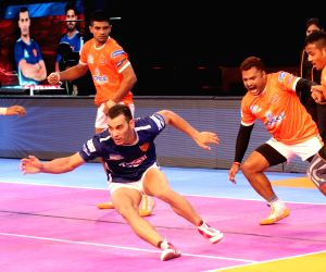 Pro Kabaddi League match - Puneri Paltan vs Dabang Delhi K.C