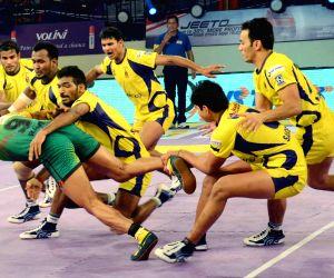 Pro Kabaddi league - Patna Pirates vs Telugu Titans