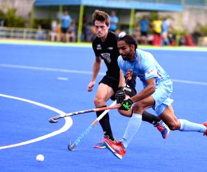 Hockey test series - India Vs New Zealand