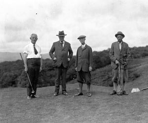 Literary 'links': A round of golf through popular literature (Column: Bookends) (With Image)
