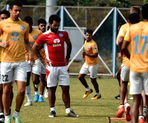ISL - Practice session - Jamshedpur FC