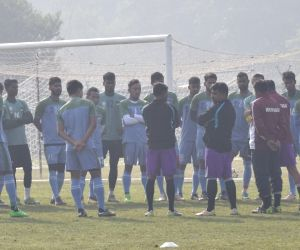 I-League - Mohun Bagan A.C. practice session