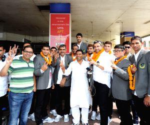 Patna Pirates arrive at Bihar capital