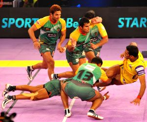 Jaipur : Pro Kabbadi League - Teluge Titans vs Patna Pirates