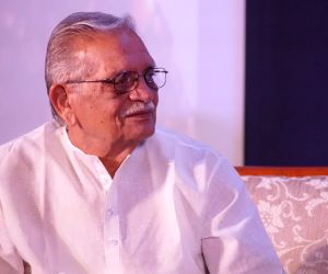 Gulzar during the launch of a music album