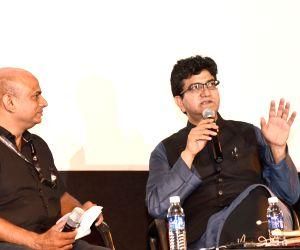 "49th IFFI - Prasoon Joshi at Masterclass on ""Lyrical Imagination Unleashed"""
