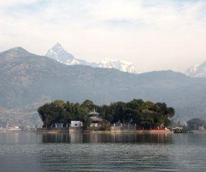 (WORLD SECTION) NEPAL-POKHARA-BARAHI TEMPLE
