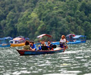 NEPAL POKHARA FEWA LAKE TOURISM