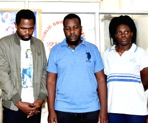 Police arrested Africans in connection with fraudulent bank transactions