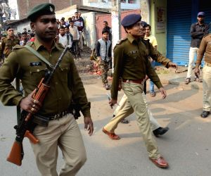 Police deployed after two groups clash in Bihar