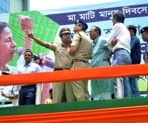 Trinamool Congress Martyr's Day preparation
