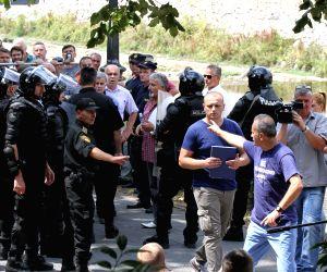 BOSNIA AND HERZEGOVINA-SARAJEVO-PROTEST