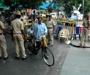 Income Tax raid at Karnataka Energy Minister's residence