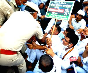 Congress protests against taxes levied by SDMC