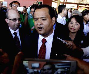 CAMBODIA-PHNOM PENH-DISSIDENT-RETURN