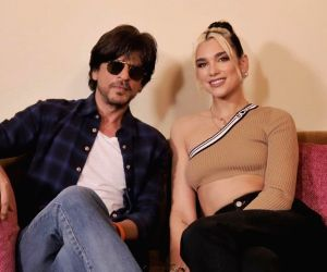 Dua Lipa meets SRK while in Mumbai