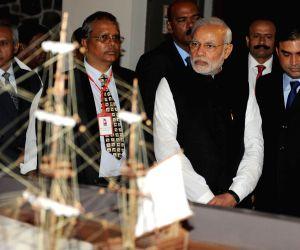 Port Louis (Mauritius): Modi visits Aapravasi Ghat