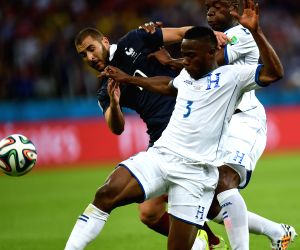 Group E match between France and Honduras of 2014 FIFA World Cup