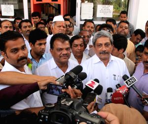 Goa CM addresses press after BJP CLP meeting