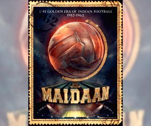 Ajay Devgn shares new release date of his biographical sports film Maidaan
