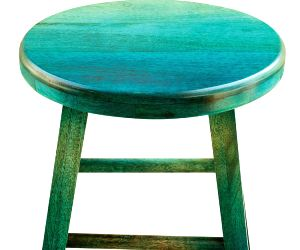 Ditch heavy furniture, go for poufs and stools! (With images)