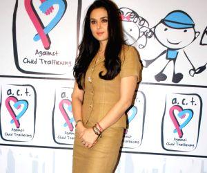 Preity Zinta at Human Trafficking NGO Event at Taj land's End.