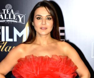 Preity Zinta shoot begins