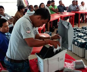 Tripura assembly polls - preparation