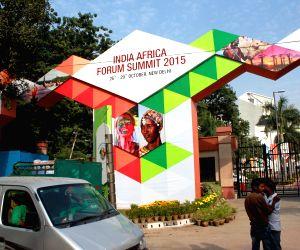 India Africa Forum Summit 2015 - preparations